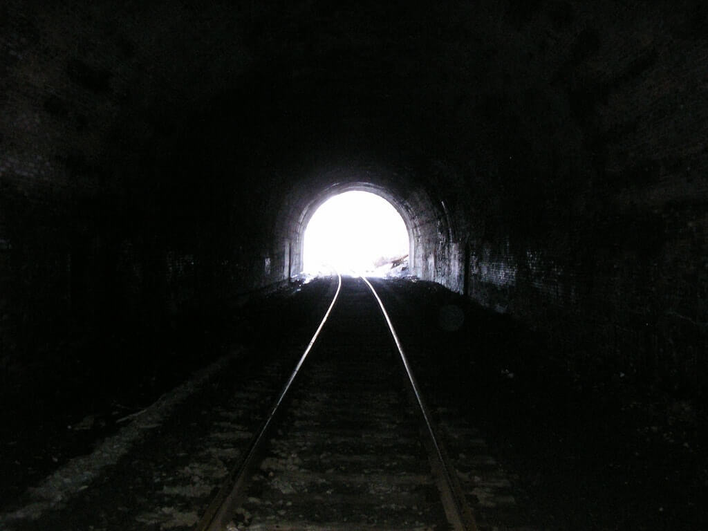 There's Always Light At The End Of The Tunnel.