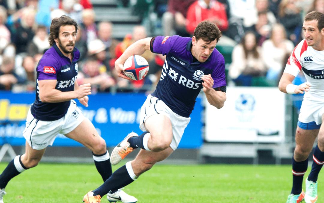 Nick de Luca, Scottish rugby international, talks about mental health